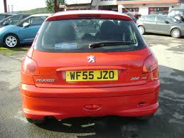 used peugeot 206 sport for sale rac cars