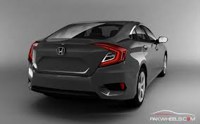 grey honda civic this is how the 2016 honda civic will look like in urban titanium