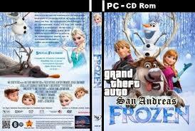 download gta san andreas queen elsa frozen version 2014 1gb hd