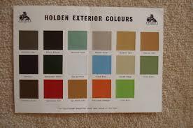 1968 73 holden and torana paint charts paint u0026 panel gmh torana