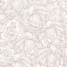 calista taupe modern rose wallpaper contemporary wallpaper