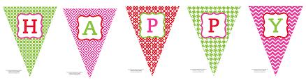 free printable happy birthday banner anders ruff custom designs