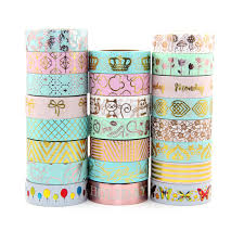 washi tape new design 15mm 10m individual shrink christmas pink and mint