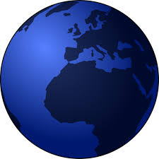 earth globe sketch public domain vectors
