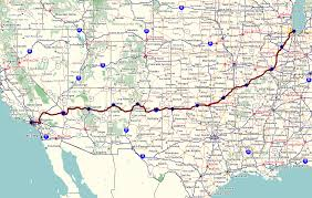 Map Route by Route 66 Map List Of Love