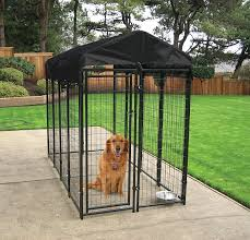 amazon com lucky dog uptown welded wire kennel 6 u0027hx4 u0027wx8 u0027l