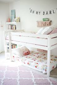 Cool Bunk Beds For Tweens Bedroom Design Bunk Beds And Loads Of Pink Grace This Cool