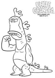 cartoon network uncle grandpa free coloring printable
