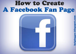 create facebook fan page how to create a facebook fan page for your blog helplogger