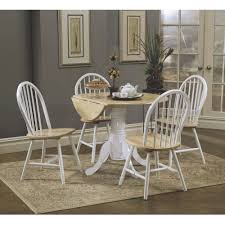 Natural Wood Dining Room Table by Coaster Company Natural And White Dining Table Box 1 Of 2
