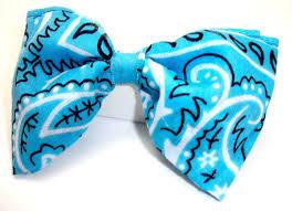 bandana bow baby blue bandana bow by geekygamershop on deviantart