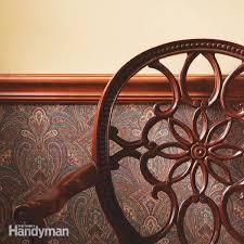Pine Chair Rail - how to install a chair rail molding u2014 the family handyman