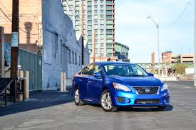 nissan sentra light blue second look 2015 nissan sentra sr six speed blog