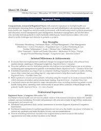 exle of registered resume sle care resume nursing cover letter exle amazing