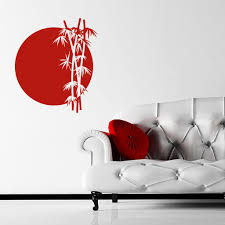 bamboo sun japanese chinese wall sticker world of wall stickers the product is already in the wishlist browse wishlist bamboo sun japanese chinese wall sticker