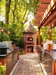 Outside Kitchen Ideas Outdoor Kitchen Designs A Great Way To Enjoy A Beautiful Day