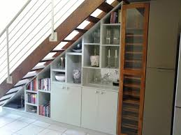 under stair bookcase and wine rack by samuel devine carpentry