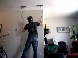 Bicycle Ceiling Hoist by Bicycle Storage Solutions For Small Living Spaces Ceiling And
