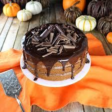 pumpkin chocolate ganache cake sundaysupper taste and see