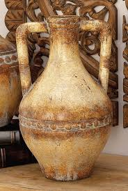 amazon com deco 79 ceramic tuscan urn for storing the eatables