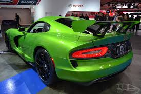Dodge Viper 2014 - dodge srt viper with gt package unveiled