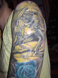 maiden tattoo