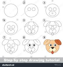 kid game develop drawing skill easy stock vector 633127631