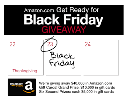 amazon black friday gift card enter to win a 5 000 or 10 000 amazon com gift card money