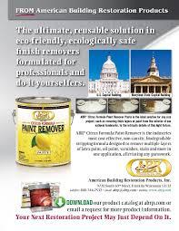abr citrus formula paint remover american building restoration