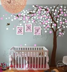 Pink And Brown Nursery Wall Decor Decorating Nursery Walls Universaldesign Info