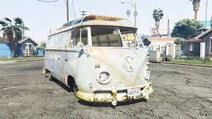 volkswagen minivan 1960 volkswagen typ 2 t1 1960 rat replace for gta 5