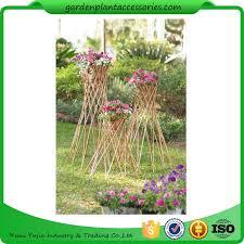 Willow Trellis Outdoor Bamboo Garden Willow Garden Trellis 4