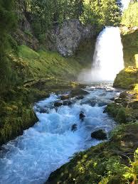hiking sahalie falls and koosah falls living the bend life