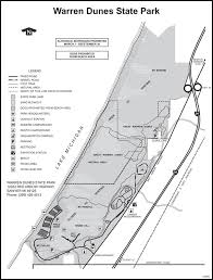 Warren Dunes State Park Map by Warren Dunes State Park Maplets