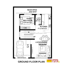 2 Bhk House Plan House Plan For 30 Feet By 40 Feet Plot Plot Size 133 Square Yards