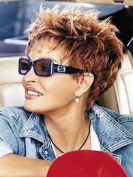 bildergebnis für over 50 short spikey hairstyles for women