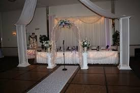 wedding backdrop tulle drapes for the walls at the reception weddings do it yourself