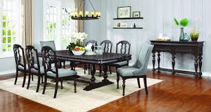 Coaster Dining Room Sets Leon Dining Table 107331 In Black By Coaster W Options