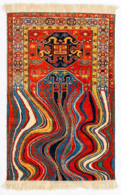 Rug Art Faig Ahmed Creates Glitched Out Contemporary Rugs From Traditional