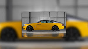 rolls royce gold rolls royce wraith in golden yellow is another bespoke creation