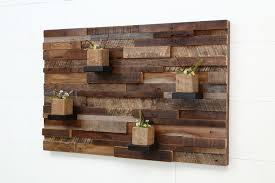 Wood Wall Ideas Reclaimed Wooden Pallet Wall Art Recycled Things