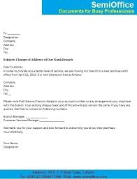 change of address business letter 28 images business change of