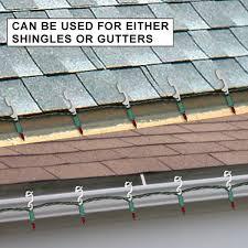christmas light shingle clips christmas icicle and mini light clips mounts on shingles and