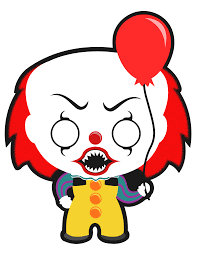 halloween clipart images pennywise from stephen king u0027s it still one of the scariest