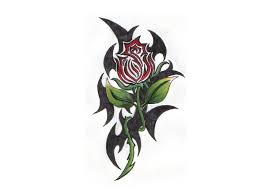 100 rose tattoo tribal tribal rose tattoo design