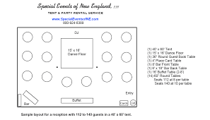40x60 Floor Plans by Tent Layout Options Get The Right Tent For Your Event