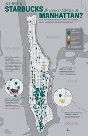 Starbucks Map Starbucks In Manhattan U2013 Catie Peterson Graphic Designer And