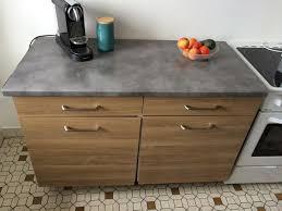 plan de travail avec rangement cuisine impressionnant meuble cuisine plan de travail décoration