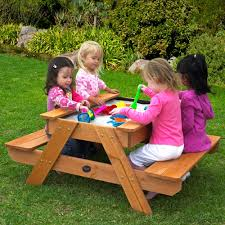 Kidkraft Outdoor Picnic Table by Http Onlypicnictables Com Wp Content Uploads 2013 11 Kids Wood