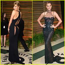 Vanity Fair After Oscar Party Karlie Kloss U0026 Irina Shayk Give A Peek Of Their Amazing Bodies In